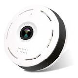 Mini Camara Ip Wifi Panoramica 360 Vigilancia
