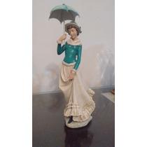 Figura De Cerámica, Muñeca Hermosa, Adorno