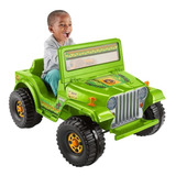 Montable Eléctrico Power Wheels Jeep Wrangler 6 Volts