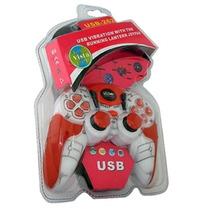 Dtc - Genérico - Control Para Juegos Joypad Blanco Rojo