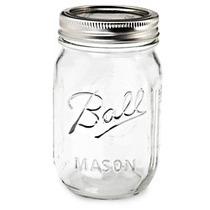 Frasco Mason Jars Ball 16 Oz Por Unidad