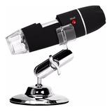 Microscopio Digital Usb 1000x Zoom Optico Hd 8 Potentes Leds