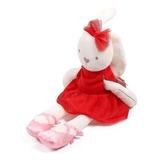 Apaciguar A Juguete Conejo Rojo