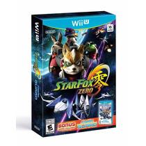 ® Star Fox Zero Para Wii U Con Bonus 2 Juegos ®