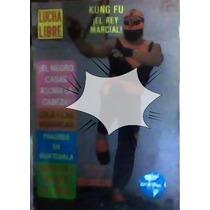 Revista De Lucha Libre,kung Fu,unica En El Mercado!!