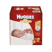 Huggies Little Snugglers Bebé Recién Nacido Pañales Tamaño 8
