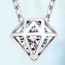 Regalo Mamá Amor Elegante Collar Diamante Swarovski Element
