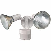 Lampara De Seguridad Con Sensor Movimiento Exterior Timer