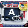 Civil War Capitán America Mascara Con Visor Que Se Ilumina!