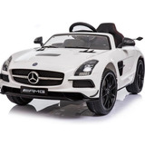 Carro Montable Carrito Electrico Mercedes Benz Sls Amg Lcd