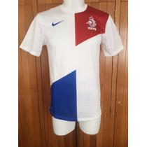 Jersey Selección Holanda Visitante Temporada 2013-2014 Nike