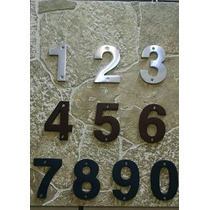 Números Residenciales Para Casa Económicos