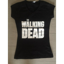 Playeras The Walking Dead Dama / Unisex