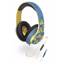 Audifonos Minions Ui-m40mn.fxv2 Over-the-ear Headphones
