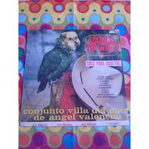 Conjunto Villa Del Mar De Angel Valencia Lp Sones Jarochos