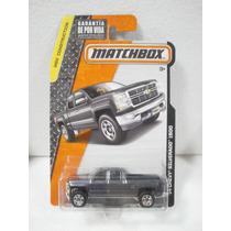 Matchbox Camioneta 14 Chevy Silverado 1500 Gris