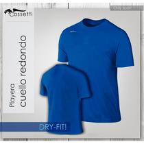 Playera Cuello Redondo En Original Dry-fit! Alta Confección