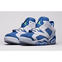 Nike Air Jordan 6 Retro Low Insignia Blue