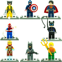 Aquaman Gatubela Batman Ironman Spider Compatibles Con Lego