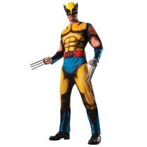 Disfraz X Men Hombre Wolverine Adulto Traje De Lujo