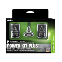 Carga Y Juega 2 Baterias Y Cable Power Kit Nyko Xbox 360