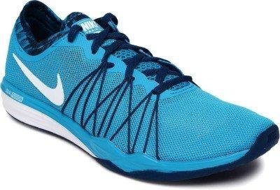 552ca821e9 Tenis Nike Dual Fusion Azul Mujer 100% Originales 844667-400 en ...