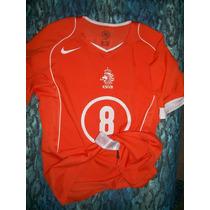Jersey Camiseta Nike Seleccion Holanda 2004 Edgar Davids