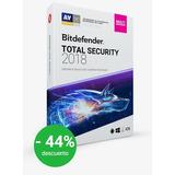 Bitdefender Total Security 5 Años Proteccion 1 Dispositivo