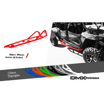 Estribos Sliders Rzr4 Xp 1000 Turbo Dmx Performance Polaris