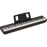 Kit De Roland Fp-10 Piano Digital Con Stand Color Negro