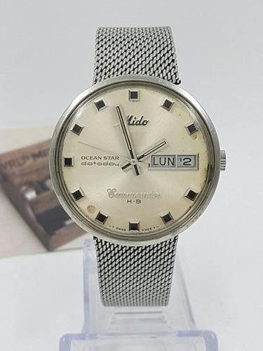 5c04218d7025 Reloj Mido Commander Hb Automatico Acero Baroncelli Vrlp en venta en  Cafetales Coyoacán Distrito Federal por sólo   3900