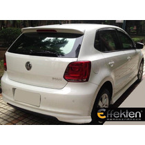 Lip Defensa Trasera Para Vw Polo 2013 Marca Effekten