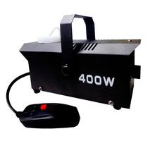 Máquina Caja De Humo Dj 400w Control Alámbrico Portátil