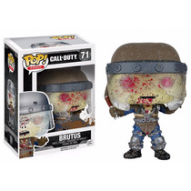 Brutus Funko Pop Msgt. Frank Woods Ghost Riley Call Of Duty