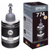 Botella De Tinta Epson T774 M100 M200 M205 Negro T774120