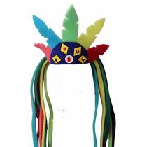 Sombrero De Penacho Para Fiestas Eventos Bodas Y Cotillón