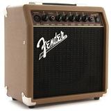 Amplificador Fender Acoustasonic 15 Watts Con Envio Gratis