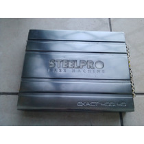 Amplificador Steel Pro Bass Machine Exact 400