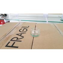 Mini Pecera De Cristal (5.1cmx3.6cm) Ideal Para Decoracion