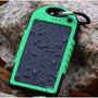 Cargador Solar Portatil Resiste Agua , Remate -5000ma Rudo