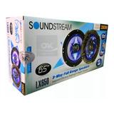 Bocinas Soundstream Lx650 6.5 Iluminacion Led 280w Mod 2019