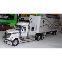1:32 International Lonestar C Caja Seca New Ray Trailer