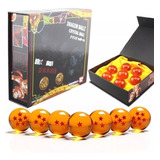Dragon Ball Z Super Gt 7 Esferas Con Caja 3.5cm