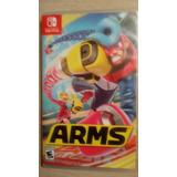 Sólo Caja De Arms Nintendo Switch Sin Juego