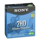 Disquettes  3.5 Nuevos, 1.44mb Floppy 10pzas Sony