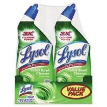 Lysol Completo Limpiador De Inodoro W / Bleach-24 Oz 2 Pk