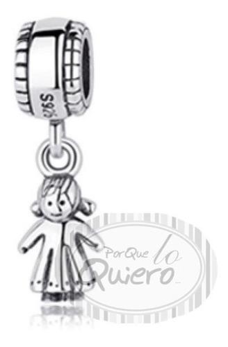 aee7509f3638 Dije Charm Compatible Pulsera Pandora 100% Plata 925 Niña en venta ...