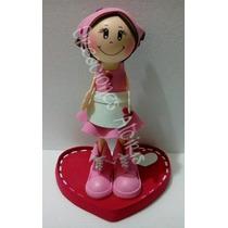 Centro De Mesa Embarazada Soltera Mama Maestra Baby Shower