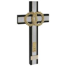 Cristo, Cruz, Crucifijo. Chapa De Oro Con Plata $556.00