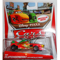 Cars Disney Rip Clutchgoneski Metallic Finish. Metallic Deco